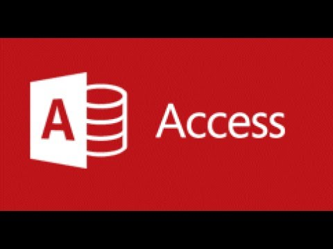 Access 2016 - How to Make a Database - Part 12 - Set Query Criteria with a Form