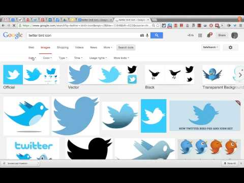 How to add a Twitter bird icon to your gmail signature