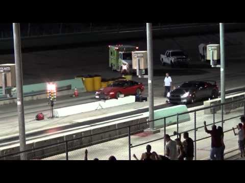 Nissan GTR vs Eagle Talon TSi drag race!
