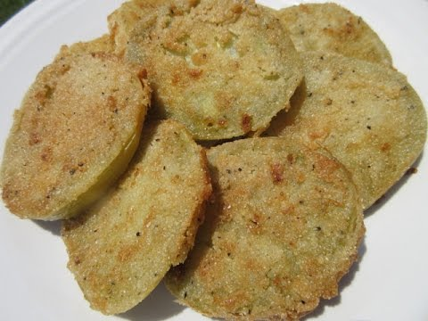 Fried GREEN TOMATOES - How to make Fried GREEN TOMATO Recipe