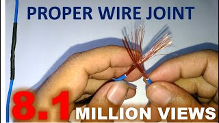 Download Proper Joint of Electric Wire Video