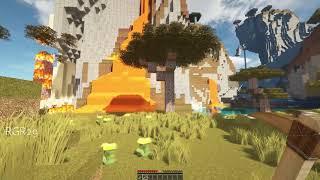 Minecraft 4K Gameplay Test - Minecraft 4K RTX 60FPS