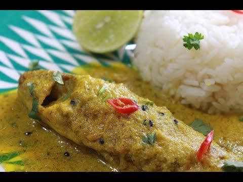 বাটা মাছের সরষে ঝাল - Fish in Mustard Paste Gravy - Traditional Bengali Fish Recipe