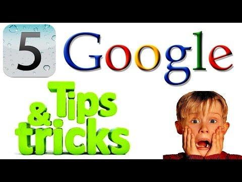 5 Google Tips & Tricks 2016