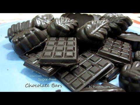Low Carb Sugar-free Chocolate Bars (Atkins Diet Phase 1)   Dietplan-101.com