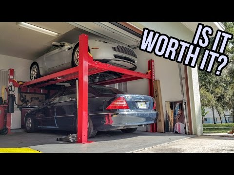 Here's How Much It Costs To Buy A Four Post Lift For Your Garage