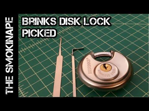 Lock Picking - Brinks 663 Disk Lock (Padlock) - TheSmokinApe