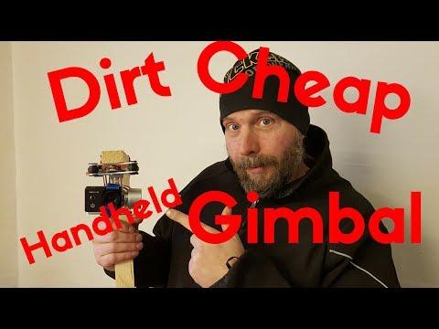 Dirt cheap handheld gimbal for action camera
