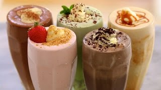 5 Homemade Ice Cream Milkshakes - Gemma