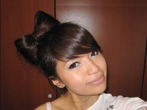 Hair Bow Tutorial Hairstyle for Short and Long Hair