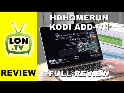HDHomerun Kodi / XBMC Live TV Add-On - Full Review