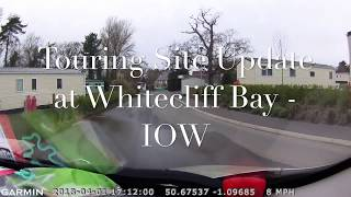 Whitecliff Bay Campsite - Touring Site Update Review