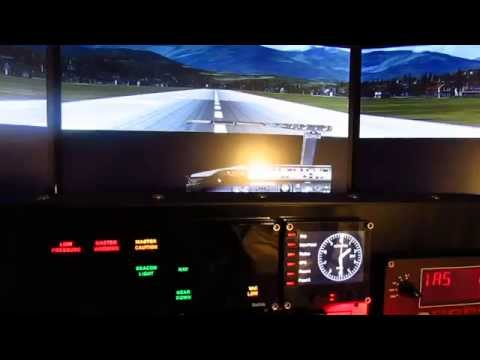 How to set up FSX Home Cockpit using  multiple monitors.