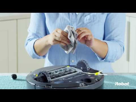 How to Clean the Front Caster Wheel | Roomba® 600 Series Robot Vacuums