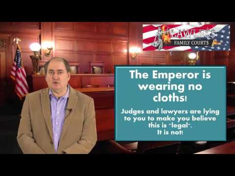 Lawless Family Courts: Almost All Temporary Order Hearing are Unconstitutional and Fraud