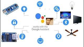 Google Assistant   Home Automation IOT   NodeMCU ESP8266