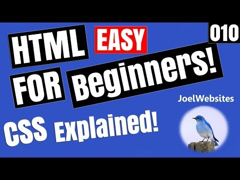 010 - HTML Tutorial for Beginners -HTML CSS Explained with Example!