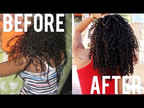 Tips For Transitioning + Training Natural Hair To Curl