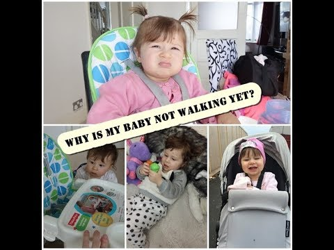 When will my baby walk? Why is my baby not walking yet at 12,13,14,15,16 and 17 months ?