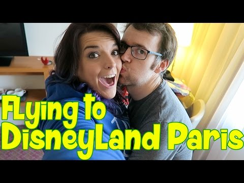 Disneyland Paris Vlog April 2016 | Flying to Disneyland Paris