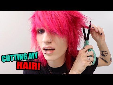 HOW I CUT MY EMO HAIR