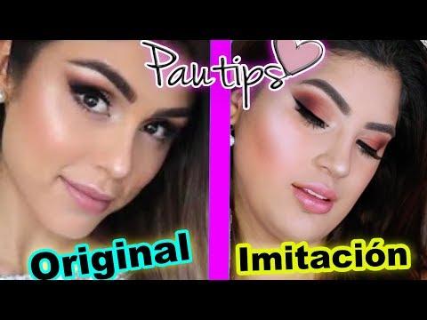 Imitando el maquillaje de Pautips - Roccibella