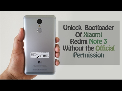 How To Unlock Xiaomi Redmi Note 3 Bootloader Without Official Permission || Detailed Tutorial ||