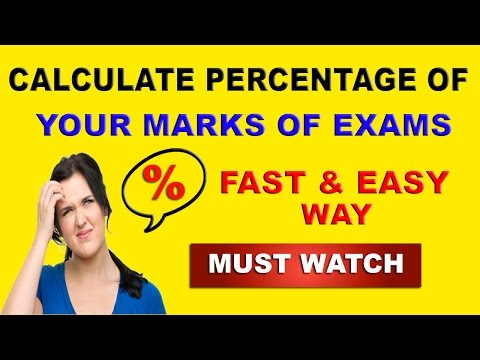 Find Percentage of Your Marks Obtained in Exam - in Hindi
