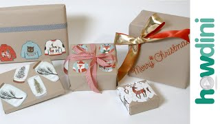 Creative Holiday Ideas: How to Wrap a Present | Howdini