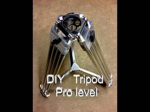 DIY Tripod Aluminium Pro Level English