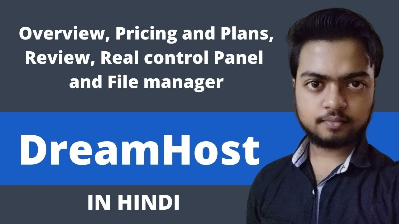 Dreamhost web hosting review in Hindi with pricing and control panel