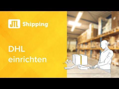 JTL Shipping - DHL einrichten in Wawi 1.1