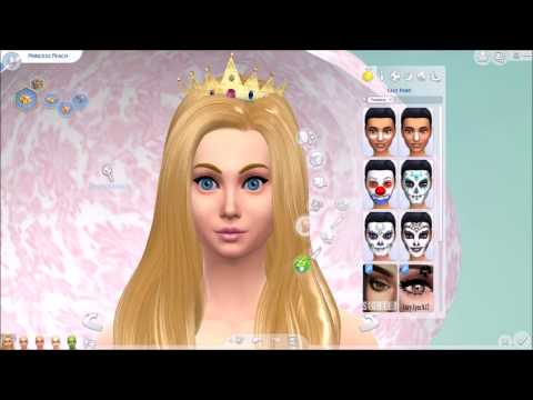 Sims 4 CAS - Mario Characters (Sweet Sims)