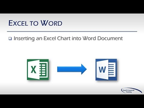Office Integration - Part 3b of 10 Parts - Excel to Word