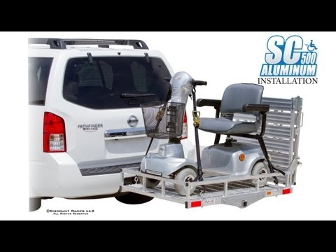SC500-AF Aluminum Folding Mobility Carrier - Installation