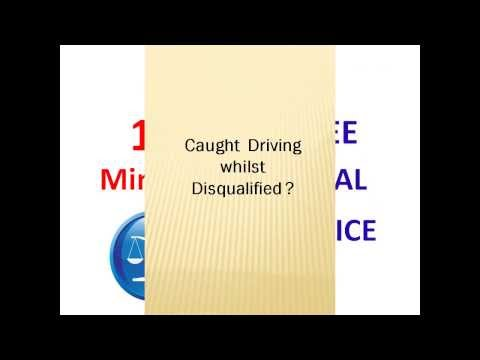 Driving Whilst Disqualified
