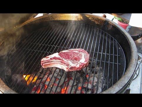 Bone-In Rib-eye Steak (How to Grill)