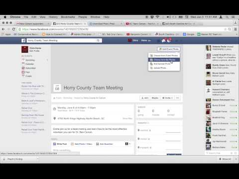 How to create an event from your Facebook Fan Page