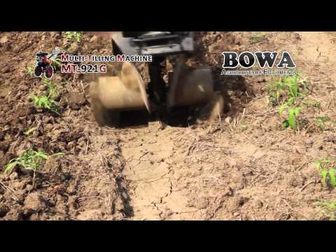 Furrowing with BOWA Multi-tilling Machine (Soft/Sticky Soil)