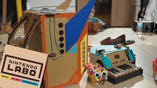 I GOT TO TRY NINTENDO LABO - Hands-On Preview!!!