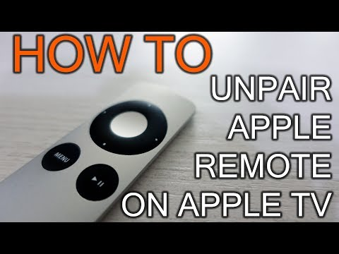 How Unpair Apple Remote From Apple TV