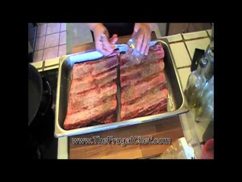 How to Grill Beef Ribs