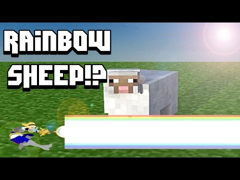 [TUTORIAL] How to Make a Rainbow Sheep / Disco Ball in Minecraft