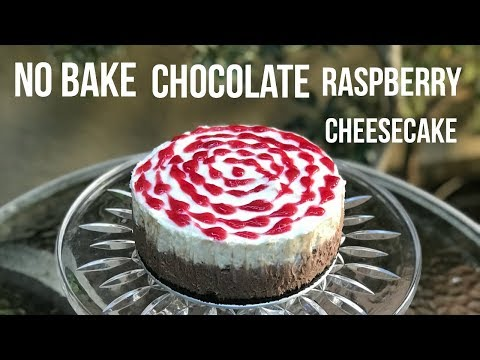 NO BAKE DOUBLE CHOCOLATE CHEESECAKE - Baking With Ryan Episode 57
