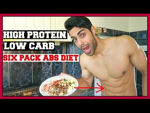 HIGH PROTEIN LOW CARB BREAKFAST - SIX PACK ABS DIET