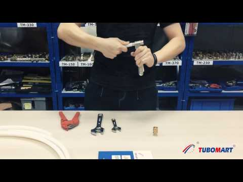 How To Install Compression Fittings for PEX Pipes
