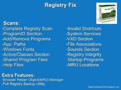 Top 5 Registry Scanners | 2009