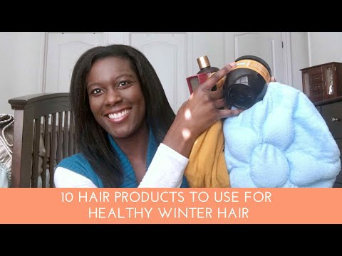 10 Products I Use For Healthy Hair In The Winter