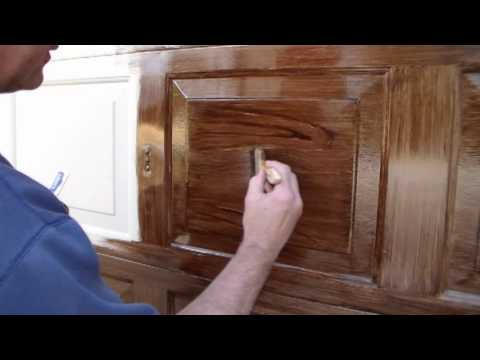 Faux Wood Garage Door the right way