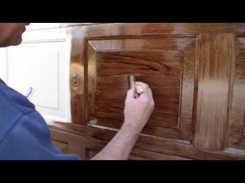Faux Wood Garage Door the right way